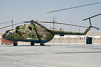 Helicopter-DataBase Photo ID:15315 Mi-17 (upgrade for Afghanistan) Afghan National Army Air Force 572 cn:108M30