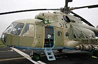 Helicopter-DataBase Photo ID:2971 Mi-17 (upgrade for Afghanistan) LOM Praha s.p. 573 cn:108M22