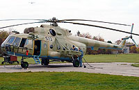 Helicopter-DataBase Photo ID:3044 Mi-17 (upgrade for Afghanistan) LOM Praha s.p. 573 cn:108M22