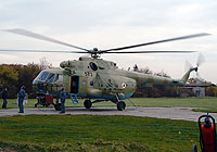 Helicopter-DataBase Photo ID:4153 Mi-17 (upgrade for Afghanistan) LOM Praha s.p. 573 cn:108M22