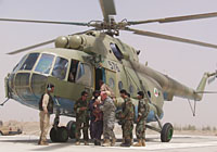 Helicopter-DataBase Photo ID:3365 Mi-17 (upgrade for Afghanistan) Afghan National Army Air Force 576 cn:108M19
