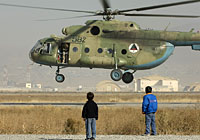Helicopter-DataBase Photo ID:3334 Mi-8MTV-1 Afghan National Army Air Force 582 cn:93245