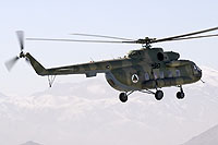 Helicopter-DataBase Photo ID:16597 Mi-8MTV-1S Afghan National Army Air Force 587