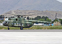 Helicopter-DataBase Photo ID:4712 Mi-8MTV-1S Afghan National Army Air Force 588