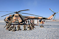 Helicopter-DataBase Photo ID:10489 Mi-17-V5 (upgrade by Airfreight Aviation Ltd) Afghan National Army Air Force 701 cn:784M15
