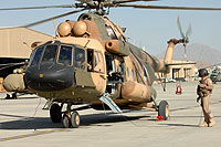 Helicopter-DataBase Photo ID:10428 Mi-17-V5 (upgrade by Airfreight Aviation Ltd) Afghan National Army Air Force 704 cn:784M18