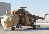 Helicopter-DataBase Photo ID:6442 Mi-17-V5 (upgrade by Airfreight Aviation Ltd) Afghan National Army Air Force 709 cn:840M01