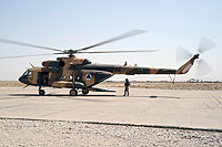 Helicopter-DataBase Photo ID:10492 Mi-17-V5 (upgrade by Airfreight Aviation Ltd) Afghan National Army Air Force 710 cn:840M02
