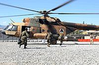 Helicopter-DataBase Photo ID:10488 Mi-17-V5 (upgrade by Airfreight Aviation Ltd) Afghan National Army Air Force 711 cn:840M03