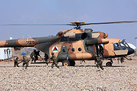 Helicopter-DataBase Photo ID:10491 Mi-17-V5 (upgrade by Airfreight Aviation Ltd) Afghan National Army Air Force 725 cn:840M17