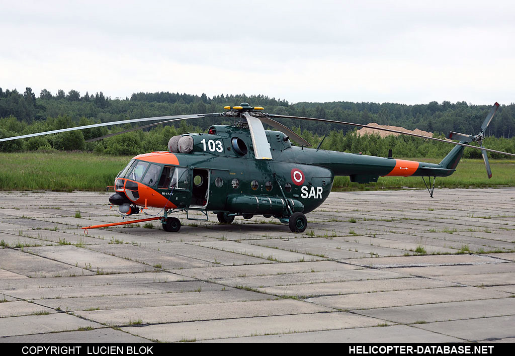 Mi-8MTV-1 (upgrade by Helisota)   103 white
