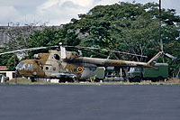 Helicopter-DataBase Photo ID:17312 Mi-17 Fuerza Aerea Sandinista 303 cn:419M17