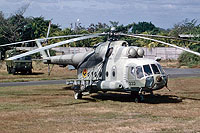Helicopter-DataBase Photo ID:17313 Mi-17 Fuerza Aerea Sandinista 333 cn:419M47