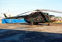 Helicopter-DataBase Photo ID:589 Mi-17 Fuerza Aerea Sandinista 334 cn:419M48