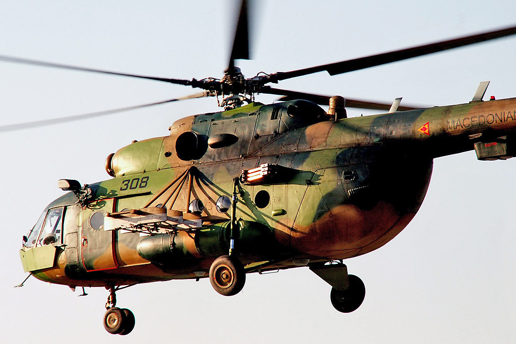 "Mi-8MT ""ALEKSANDAR"" (upgrade by Elbit)   308"