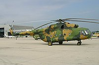 Helicopter-DataBase Photo ID:619 Mi-17 Air Force of North Macedonia VAM-304