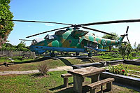 Helicopter-DataBase Photo ID:17528 Mi-24D Georgian Air Force 02 white