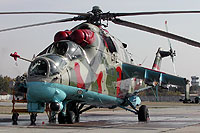 Helicopter-DataBase Photo ID:6186 Mi-24P Georgian Air Force 04 white