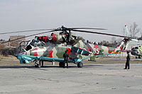 Helicopter-DataBase Photo ID:6184 Mi-24V Georgian Air Force 05 white