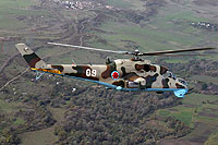 Helicopter-DataBase Photo ID:5990 Mi-24V Georgian Air Force 09 white