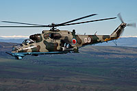 Helicopter-DataBase Photo ID:6182 Mi-24V Georgian Air Force 09 white