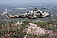 Helicopter-DataBase Photo ID:14353 Mi-24P (upgrade by IAI/ELTA) Sri Lanka Air Force CH-635 cn:3532431622597