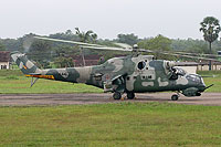 Helicopter-DataBase Photo ID:6503 Mi-35 (upgrade by ELTA) Sri Lanka Air Force SAH-4407 cn:220991