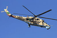 Helicopter-DataBase Photo ID:15225 Mi-35 Libyan Air Force 854 cn:280854