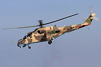 Helicopter-DataBase Photo ID:15226 Mi-35 Libyan Air Force 854 cn:280854