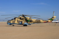Helicopter-DataBase Photo ID:1460 Mi-35 Libyan Air Force 861 cn:280861