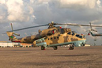 Helicopter-DataBase Photo ID:15221 Mi-35 Libyan Air Force 861 cn:280861