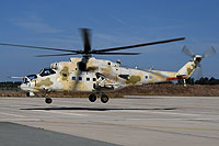 Helicopter-DataBase Photo ID:16321 Mi-35P Cyprus National Guard Air Wing 817 cn:023368