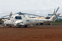 Helicopter-DataBase Photo ID:13176 Mi-35P (upgrade by Controp) United Nations 6W-SHY cn:054375
