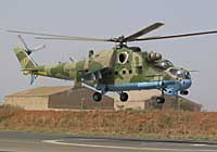 Helicopter-DataBase Photo ID:1567 Mi-24P Senegal Air Force 6W-SHZ cn:3532013812542