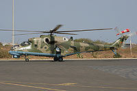 Helicopter-DataBase Photo ID:6013 Mi-24P Senegal Air Force 6W-SHZ cn:3532013812542
