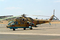 Helicopter-DataBase Photo ID:1098 Mi-24A South African Air Force Museum AFB Swartkop 34 yellow cn:4202034