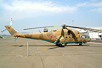 Helicopter-DataBase Photo ID:1099 Mi-24A South African Air Force Museum AFB Swartkop 34 yellow cn:4202034