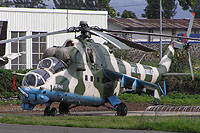 Helicopter-DataBase Photo ID:1571 Mi-24V Congolese Air Force 9T-HM2