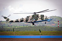 Helicopter-DataBase Photo ID:14186 Mi-24V Congolese Air Force 9T-HM2
