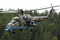 Helicopter-DataBase Photo ID:7218 Mi-24PN Russian Air Force 03 red