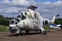 Helicopter-DataBase Photo ID:16296 Mi-24D Aces High  cn:3532461715415
