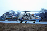 Helicopter-DataBase Photo ID:16000 Mi-24V 485th Independent Combat Helicopter Regiment 07 orange cn:3532422218574
