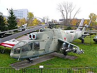 Helicopter-DataBase Photo ID:1122 Mi-24A Central museum of Armed Forces 07 red cn:4202109