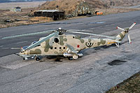 Helicopter-DataBase Photo ID:15470 Mi-24V 55th Independent Helicopter Regiment 07 white cn:3532424707804