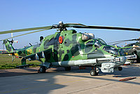 Helicopter-DataBase Photo ID:2159 Mi-24P Russian Army Aviation 07 yellow cn:3532433522149