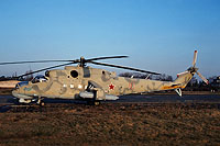 Helicopter-DataBase Photo ID:15634 Mi-24P 172nd Independent Combat Helicopter Regiment 10 red cn:3532434319542
