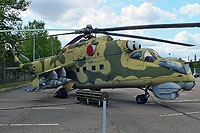 Helicopter-DataBase Photo ID:16389 Mi-24D Museum of the Great Patriotic War Poklonnaya Gora 115 white cn:340...04274