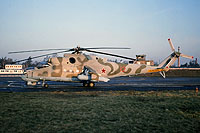 Helicopter-DataBase Photo ID:15999 Mi-24P 172nd Independent Combat Helicopter Regiment 12 red cn:3532434319564