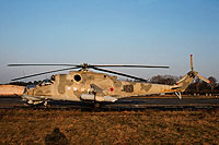 Helicopter-DataBase Photo ID:15475 Mi-24V 172nd Independent Combat Helicopter Regiment 15 red cn:3532422809315