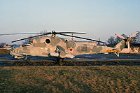 Helicopter-DataBase Photo ID:15635 Mi-24V 172nd Independent Combat Helicopter Regiment 16 red cn:3532422810009